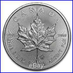 2020 Canada 100-Coin Silver Maple Leaf APMEX Mini Monster Box SKU#195998