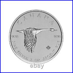2020 Canada $10 Canadian Goose 2 oz. 9999 Silver Coin NGC MS 69