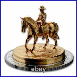 2020 Canada 10 oz Silver Sculpture Coin The RCMP Musical Ride SKU#218460