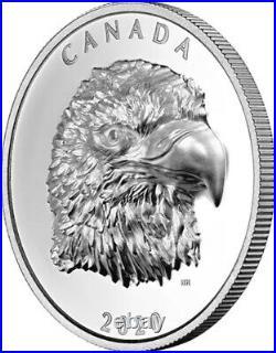 2020 Canada 1 oz Silver Eagle NGC PR70 UC EHR FDI Taylor Signed Coin WithOMP/COA