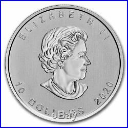 2020 Canada 2 oz $10 Silver Canadian Goose SKU#207742