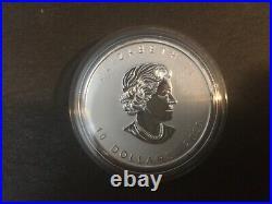 2020 Canada 2oz $10 Goose Silver Bullion Coin