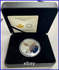2020 Canada $30 Imposing Icons Moose 2 oz. 9999 Silver Coin 2,500 Made