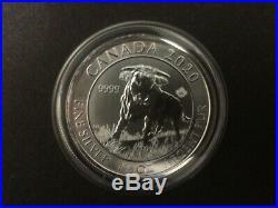2020 Canada $8 1.5oz 1 1/2oz Canadian Bull Fine Silver Bullion coin