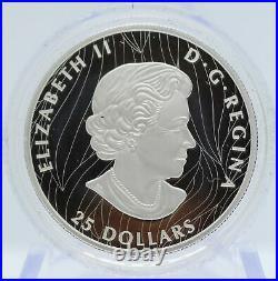 2020 Canada Bald Eagle Silver 1 oz Extraordinary High Relief $25 Coin OGP JJ442