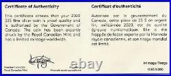 2020 Canada Bald Eagle Silver Extraordinary High Relief NGC PF70 $25 Coin JJ440