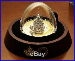 2020 Christmas Train 5 oz. Pure SILVER Coin with Box & COA SOLD OUT at the MINT