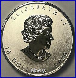 2020 Goose Maple Leaf 2 oz. 9999 Silver $10 Coin Canada Mint Alex Colville