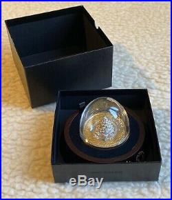 2020 Moving Christmas Train $50 5 OZ Pure Silver Proof Gold-Plated Coin Canada