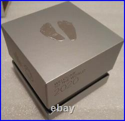 2020 Premium Baby Welcome to World Pure Silver $10 1/2OZ Coin Canada Baby Feet