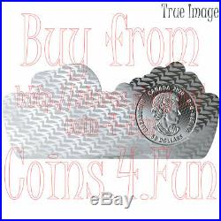 2020 Real Shapes #1 The Common Loon $50 3 OZ Pure Silver Proof Coin