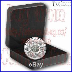 2020 Sparkle Heart FIRE AND ICE Canadian Dancing Diamond $20 Proof Silver Coin