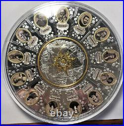 2020 The Four Winds Pathfinders In Canada Silver Puzzle Coin Set Mint Sold Out
