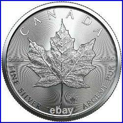 2021 Canada 1oz Maple Leaf Silver Coin x Lot of 10