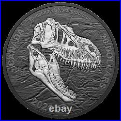 2021 Canada $20 Dinosaurs Reaper of Death T-Rex 1 oz Silver Coin NGC PF 70