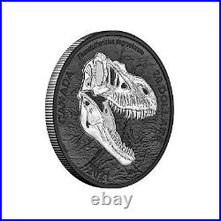 2021 Canada $20 Discovering Dinosaurs Reaper of Death T-Rex 1 oz Silver Coin