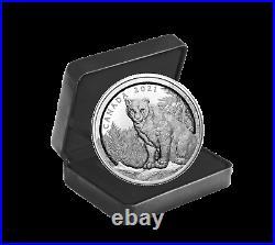 2021 Canada $50 Multilayered Cougar 3.4 oz. 9999 Silver Coin 1,500 Made
