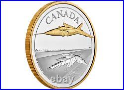 2021 Canada 5 oz. Pure Silver Coin The Avro Arrow