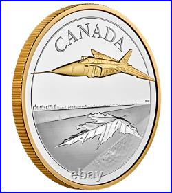 2021 Canada 5 oz. Pure Silver Coin The Avro Arrow Low mintage Sold Out