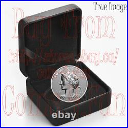 2021 PAX Peace Dollar $1 1 OZ Pure Silver Proof Coin Canada