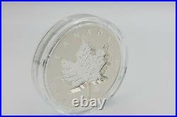 2021 Super Incuse Silver Maple Leaf SML $20 1 oz. Pure Silver Proof Coin Canada