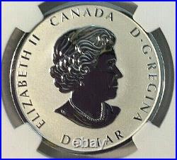 2021 W Canada $1 PEACE DOLLAR UHR NGC REVERSE PROOF 70 FDI Taylor