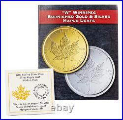 2021 W Canada 1 oz Silver Maple Leaf Tailored Specimen $5 Coin GEM BU