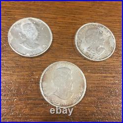 3 x 2011 Canada Maple Leaf 1oz Silver Bullion Coin by Royal Canadian Mint (RCM)