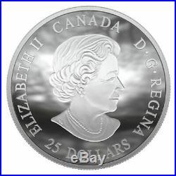 50th Anniversary Apollo 11 Moon Landing 2019 $25 Convex Fine Silver Coin Rcm