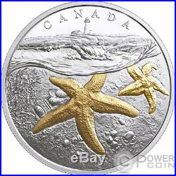 ATLANTIC STARFISH From Sea To Sea To Sea 1 Oz Silver Coin 20$ Canada 2017