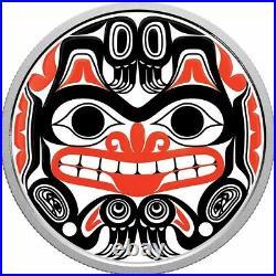 Bill Reid Xhuwaji, Haida Grizzly 2020 Canada $20 Fine Silver Coin