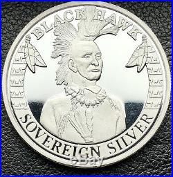 Black Hawk Chumash Casino Poker Room 1 oz. 999 Fine Silver Art Coin (4116)