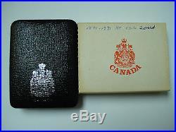 British Columbia Canada 1871 1971 Silver Coin Rare Rainbow Tone Both Sides
