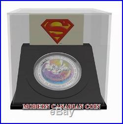 CANADA $20 FINE SILVER HOLOGRAM COIN-75Th Anniversary Superman Metropolis 2013