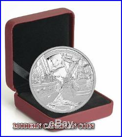 CANADA $50 5 oz PURE SILVER COIN- THE SHANNON AND THE CHESAPEAKE- RCM 2013