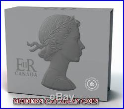 CANADA $50 5oz. FINE SILVER COIN 60th ANNIVERSARY QUEEN'S CORONATION 2013