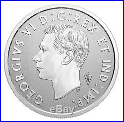 Canada $10 Pure Silver Coloured Coin, Liberation of Netherlands, UNC 2020