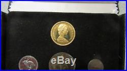Canada 1967 Centennial Silver Coin Set $20 Gold Coin in Original Box FREE SHIP