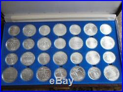 Canada 1976 Sterling Silver Olympic Coin Set