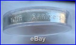 Canada 1998 10th Anniversary Maple Leaf 50 Dollars 10oz Silver Coin