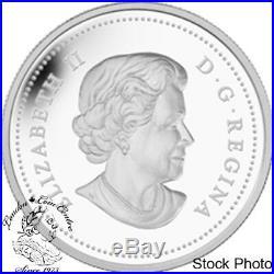 Canada 2015 $20 Imposing Alpha Wolf Silver Coin