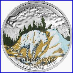 Canada 2016 2017 Landscape Illusions 5 Coin Silver Proof Set $20 in Custom Case
