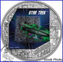 Canada 2017 $20 Star Trek The Borg Silver Coin