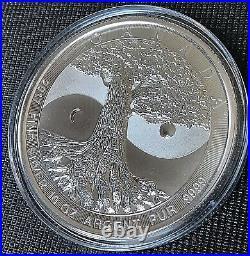 Canada 2017 $50 Tree of Life Brilliant Uncirculated 10 oz. 999 Silver Coin