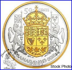 Canada 2018 50 Cent 75th Anniversary of the 1943 Half Dollar Fine Silver Coin