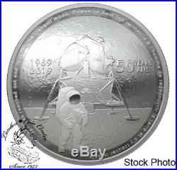 Canada 2019 $25 50th Anniversary of the Apollo 11 Moon Landing Fine Silver Coin