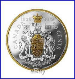 Canada 2019 Masters Club Coin Half Dollar 60th Anniversary Pure Silver