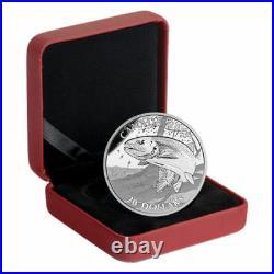 Canada $20 Dollars Silver Proof (4 Pcs Full Coin Set), 1 oz 2015 Sportfish