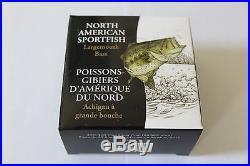 Canada 4 x 1 oz. 99,99 % Fine Silver Coin 4 coins Fish of North America (2015)