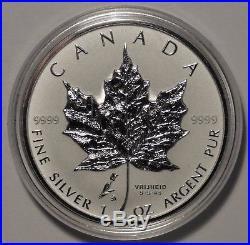 Canada $5 1oz Tulip Privy 1945-2005 Netherland liberation Silver Maple Leaf coin